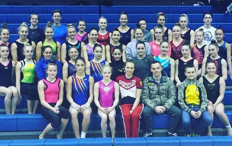 Успех новомосковской гимнастки