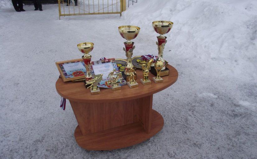 Кубок за победу у «Химика»!